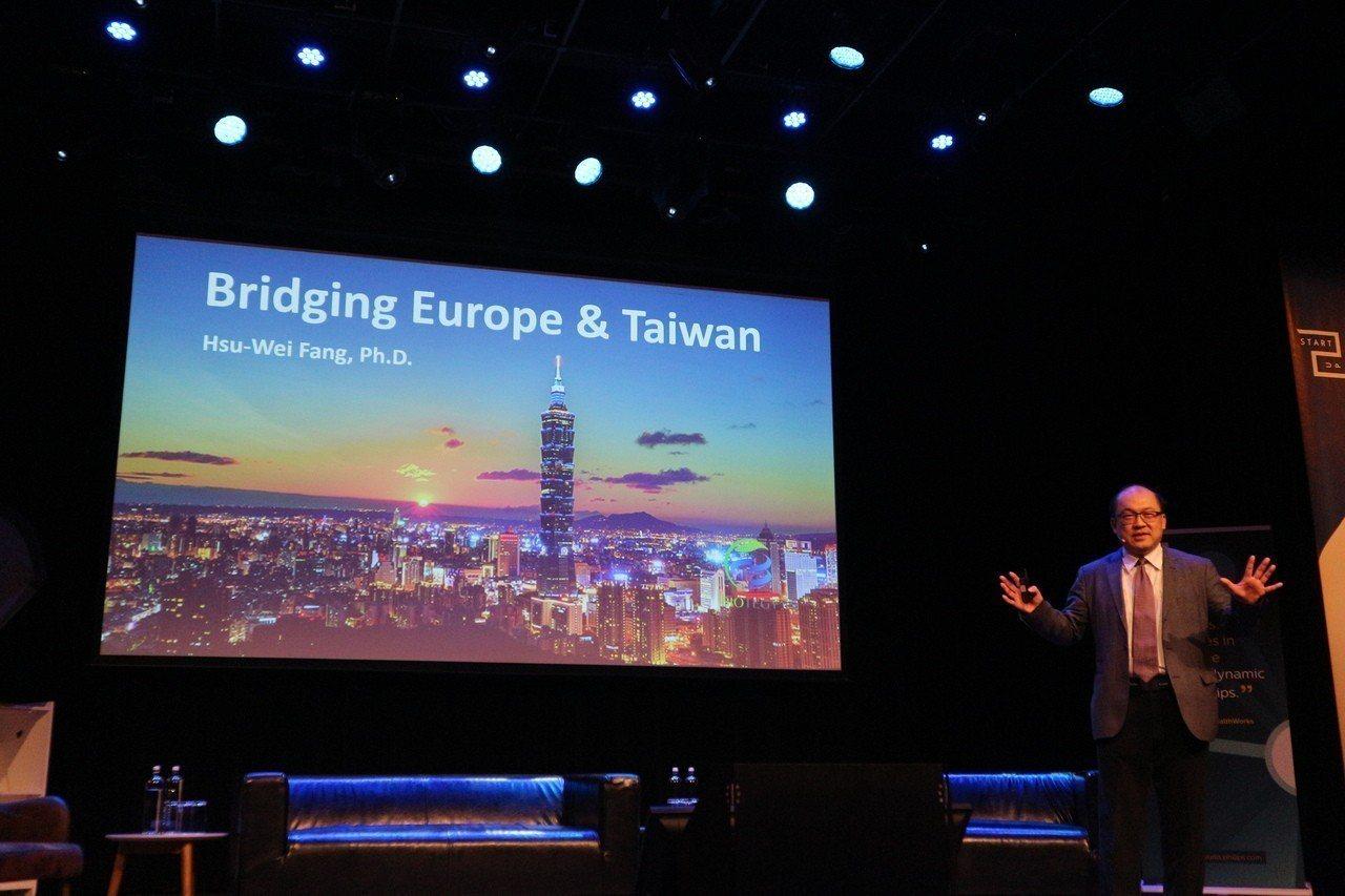 方策科技創辦人方旭偉赴荷蘭演講,介紹台灣醫材產業技術與商品,為台商拓展歐洲市場搭...
