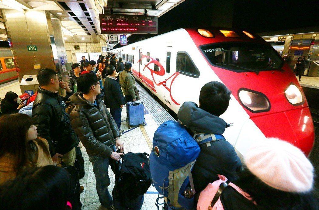網友提供訂購花東火車票攻略。 圖片來源/聯合報系 記者王騰毅攝影
