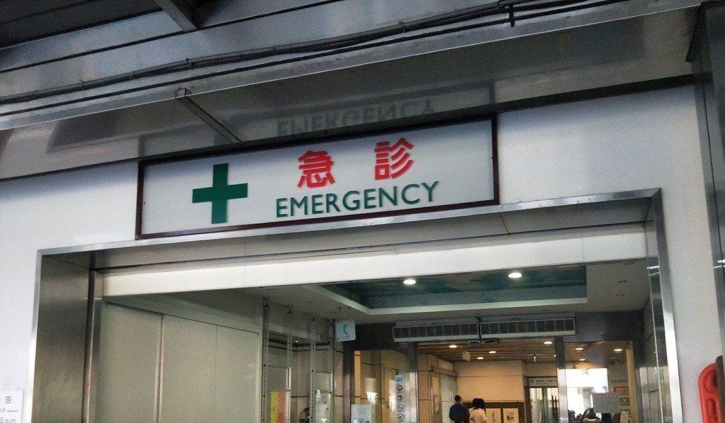 急診室。記者江婉儀/攝影