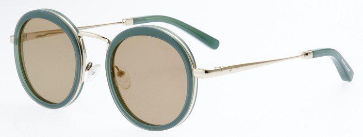 BLANC&ECLARE Eyewear-城市系列(京都)綠色款,10,200元...