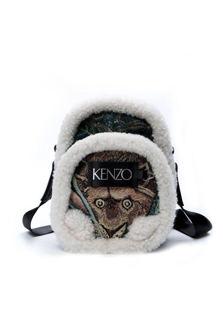 MEMENTO N°3滾邊迷你後背包,24,800元。圖/KENZO提供