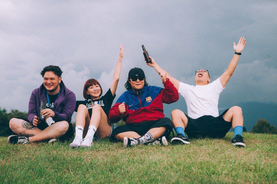怕胖團將在11月舉行演唱會。圖/歪的音樂提供