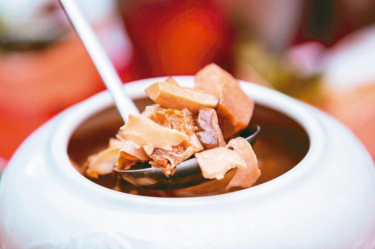 阿勇家「潮式佛跳牆」。 圖/台南美食節提供