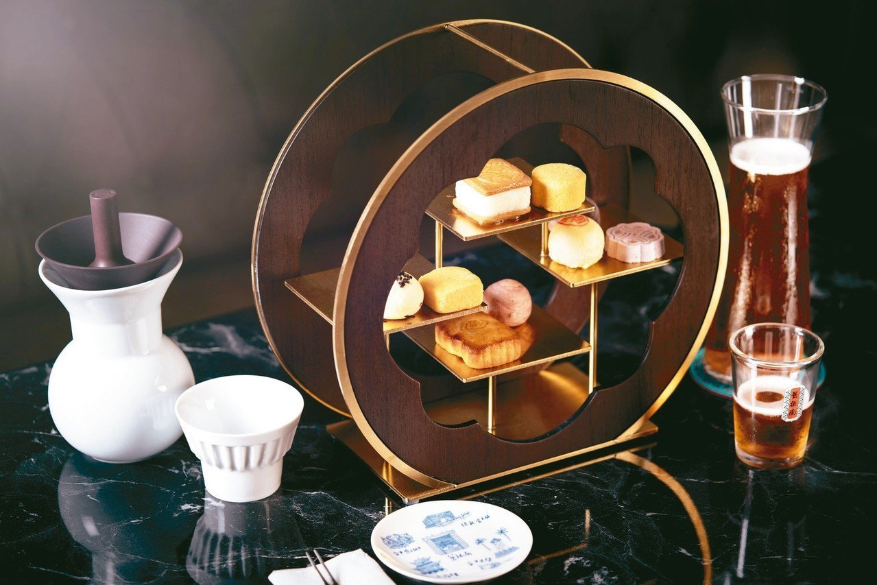 九小福舊振南經典下午茶套餐,售價380元。 圖/舊振南提供