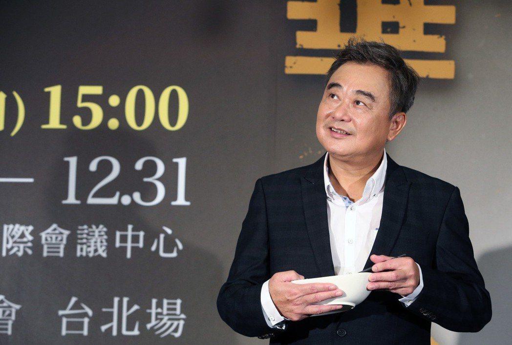 歌手陳昇今天舉行跨年演唱會記者會,會中剛好巧遇地震,陳昇表示這是老天在說話,祈願...