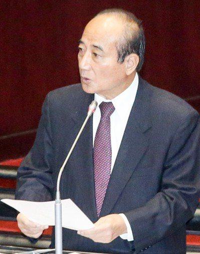 國民黨立委王金平。 圖/聯合報系資料照片