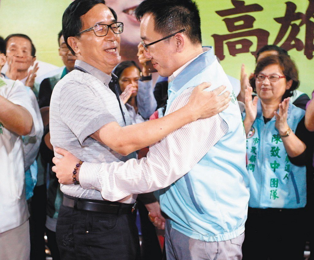 前總統陳水扁預告要出席兒子陳致中競選總部成立大會。 圖/聯合報系資料照片