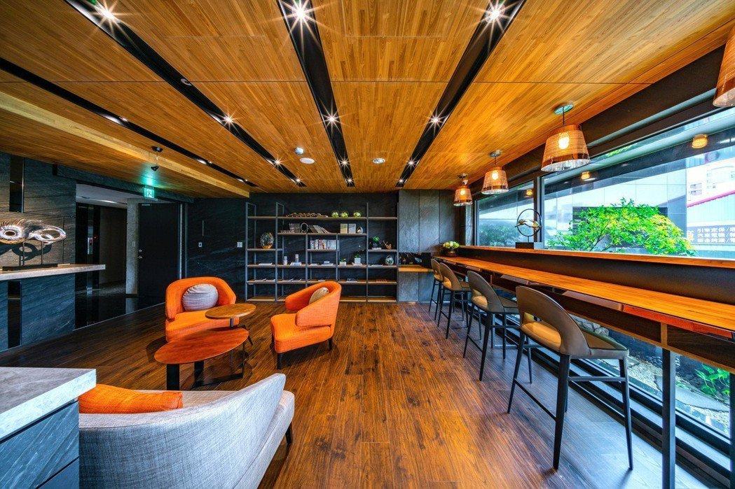來交誼廳,體驗日本讓人著迷的待客之道空間。圖片提供/圓盛建設