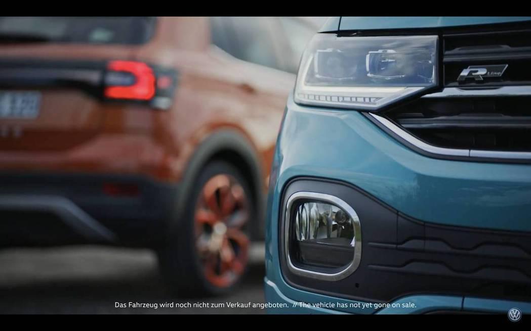 全新Volkswagen T-Cross即將在10/25正式發表。 截自Volkswagen影片