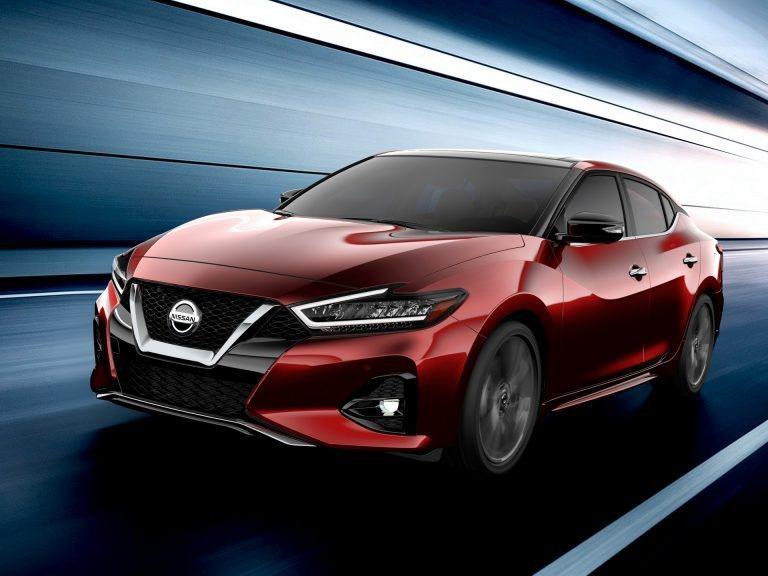 2019 小改款Nissan Maxima。 摘自Nissan
