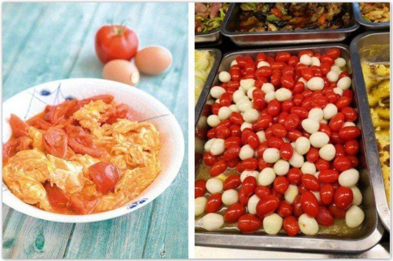 這家自助餐的「番茄炒蛋」跟一般的很不一樣! 圖片來源/《吳恩文零失敗料理》、微博