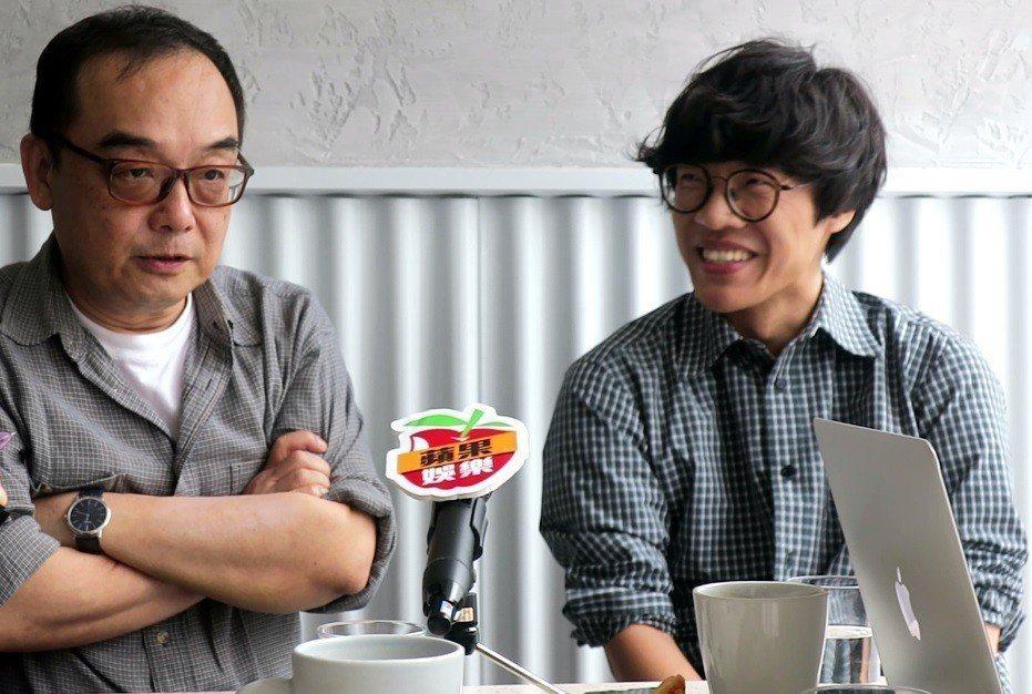 易智言與盧廣仲擔任本屆金馬「伯爵年度優秀獎」評審。記者蘇詠智/攝影
