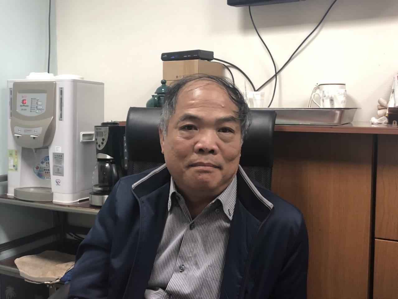 台鐵工務處處長陳仲俊。記者侯俐安/攝影