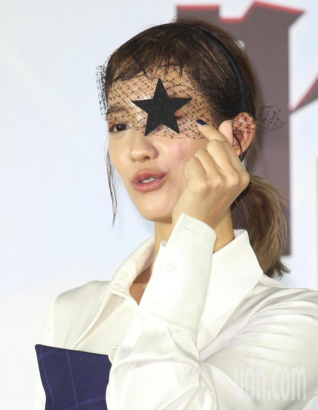 【哈囉!有事嗎】首映會在信義威秀舉行,女主角孟耿如出席。記者陳正興/攝影