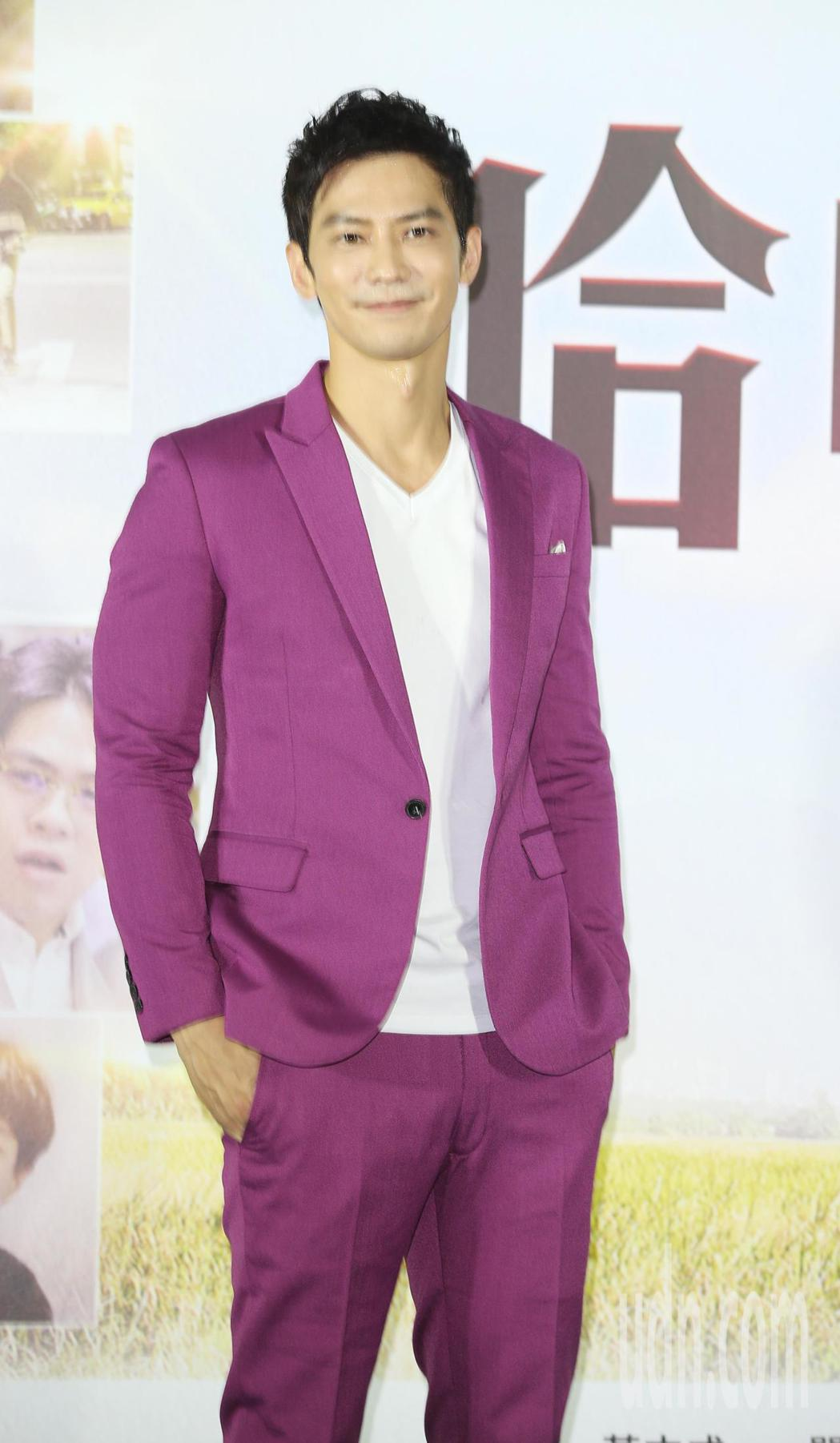 【哈囉!有事嗎】首映會在信義威秀舉行,男主角鄒承恩席出席。記者陳正興/攝影