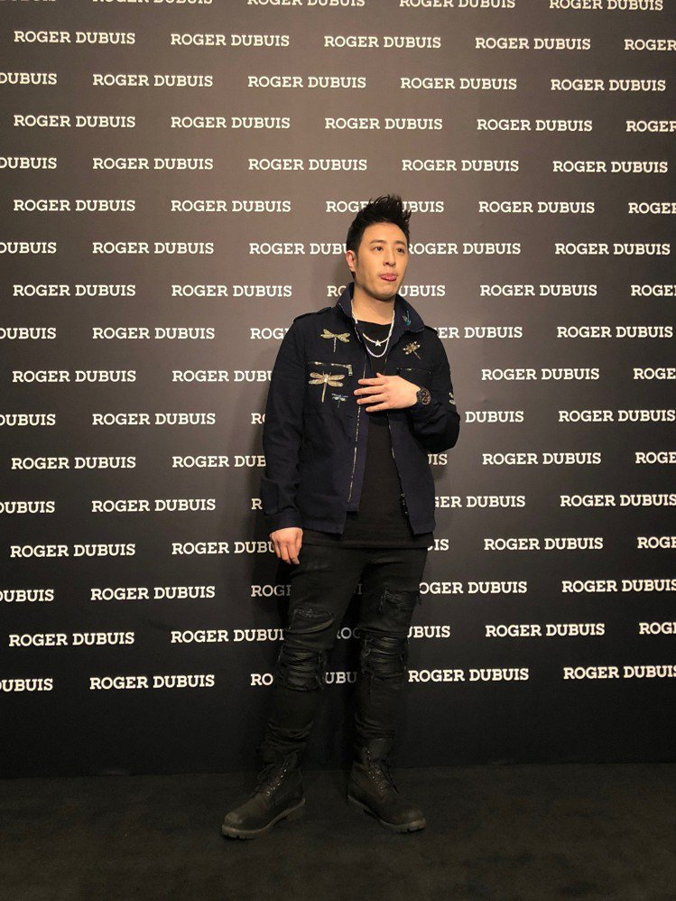 潘瑋柏出席羅杰杜彼「Mad but Swiss」品牌體驗活動。圖/記者孫曼攝影