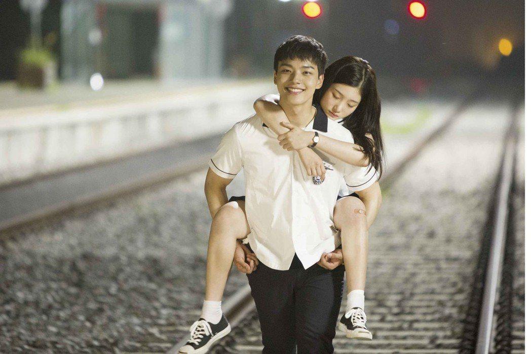 呂珍九在「重逢的世界」中超會撩妹。圖/東森戲劇台提供