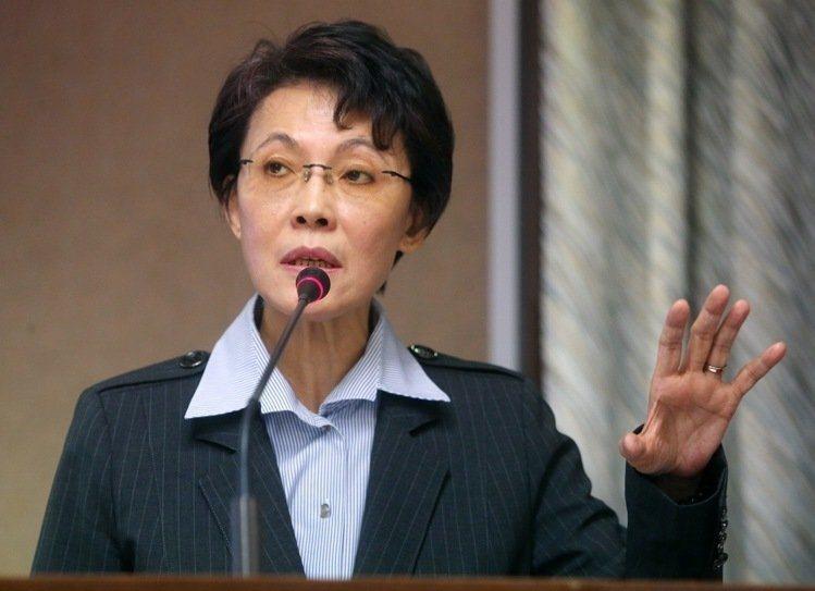 國民黨立委黃昭順,名列「宗教基本法」草案提案人。 圖/聯合報系資料照片
