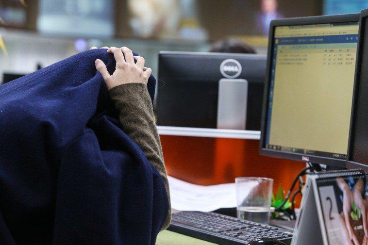 有思覺失調症患者對於該找什麼工作相當苦惱。示意圖。聯合報系資料照片/記者王騰毅攝...