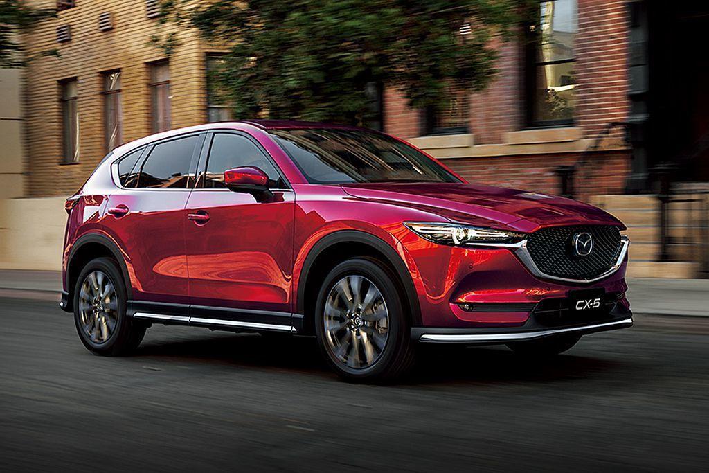 Mazda CX-5全球越賣越好原廠也不斷增加銷售實力,現在日規車型已經有多達四...