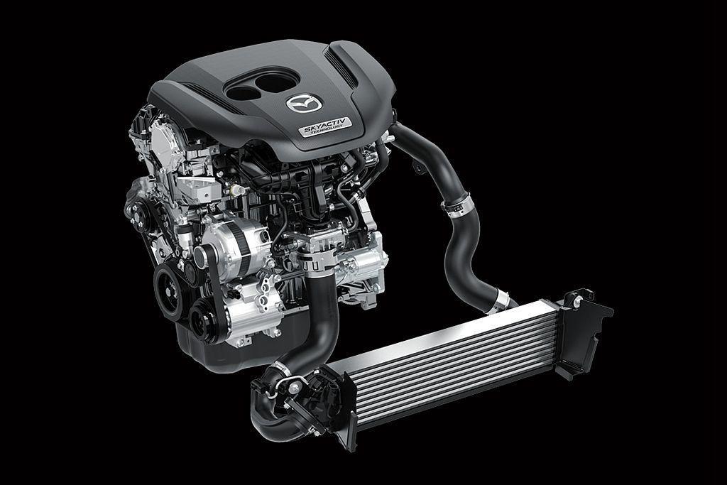 日規車型新增的SKYACTIV-G 2.5T汽油渦輪動力,將能滿足大馬力市場的銷售需求。 圖/Mazda提供