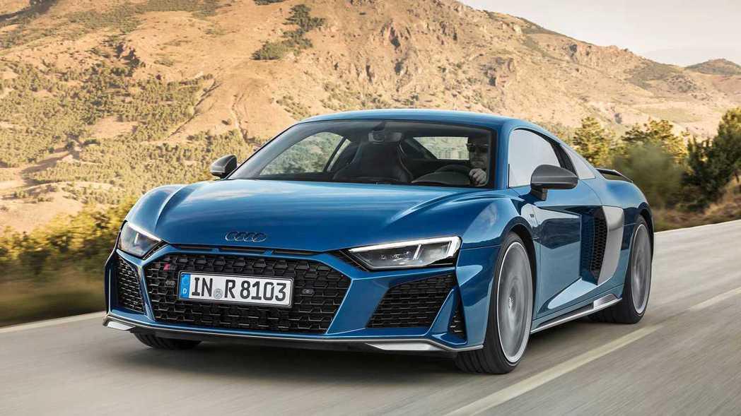 2019 Audi R8 Coupe。 摘自Audi