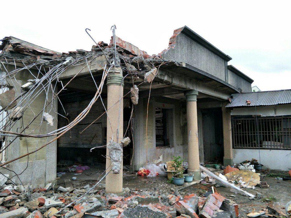圖為麻豆張拔故居,現已拆除。 圖/聯合報系資料照