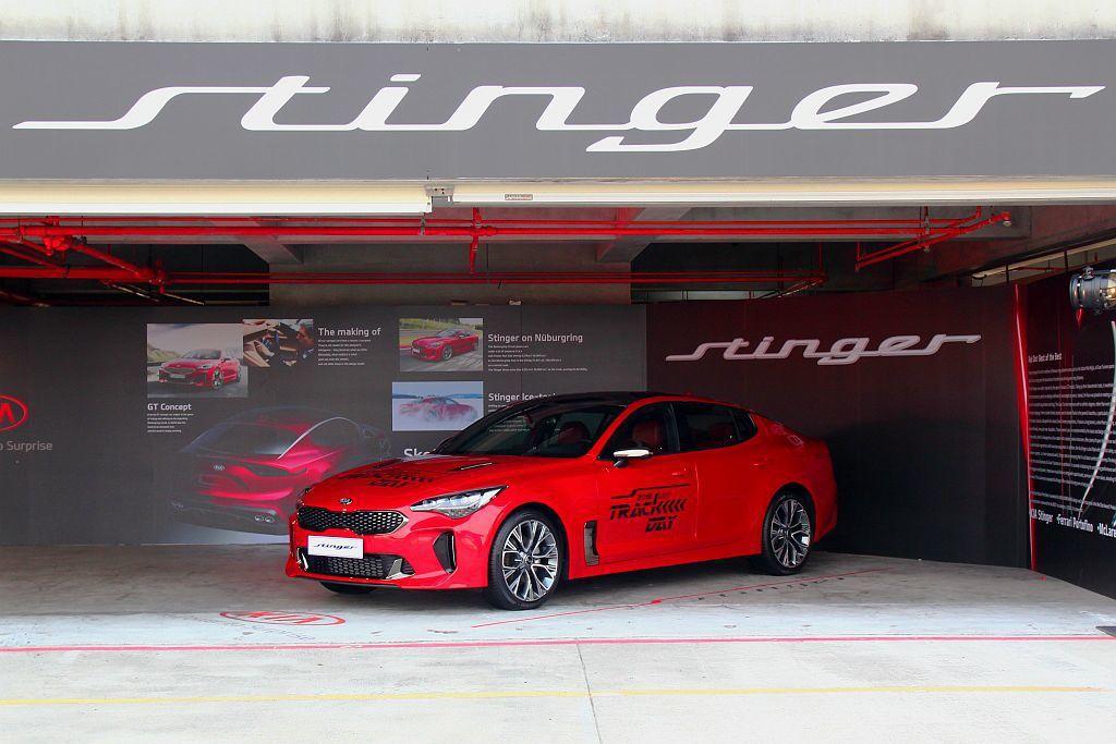 Kia Stinger正式在台發表具備2.0T、3.3T兩種汽油渦輪動力,起售價...