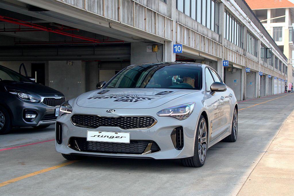 很慶幸台灣森那美起亞能將Kia Stinger導入,讓消費者看見完全不同以往的Kia汽車。 記者張振群/攝影