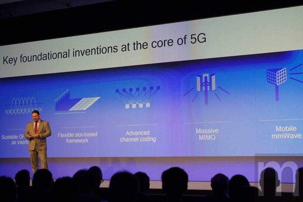 5G網路特性不僅侷限在高速傳輸、更大頻寬,更包含可以軟體定義、可程化,以及多頻整...