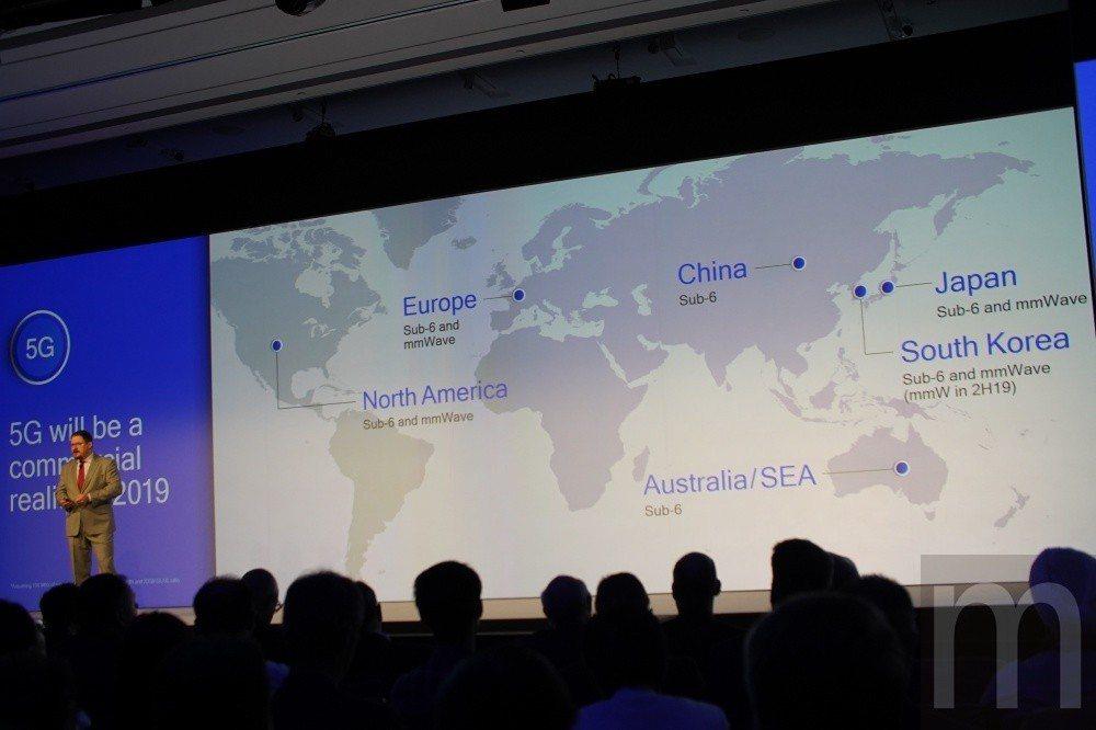 5G網路技術預計在2019年陸續在全球各地推行普及