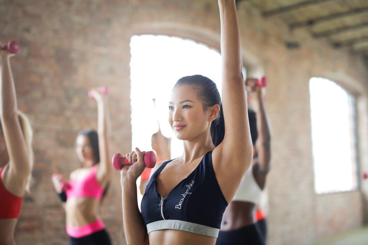 知名健身部落客史考特「一分鐘健身教室」講座。圖/文 聯合數位文創提供