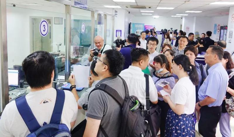 《港澳台居住證申請發放辦法》正式施行,台灣民眾得於中國申請居住證。 翻攝自中國台...