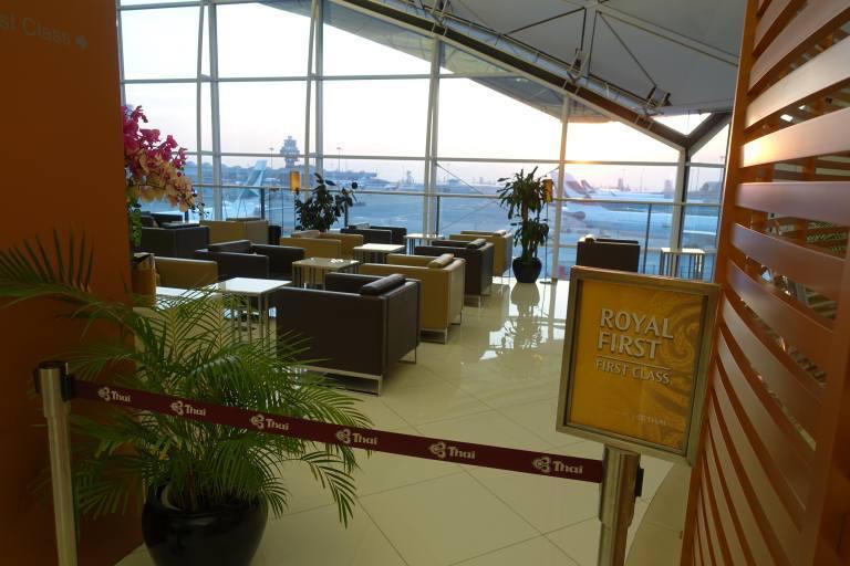 頭等艙乘客專用區 圖文來自於:TripPlus