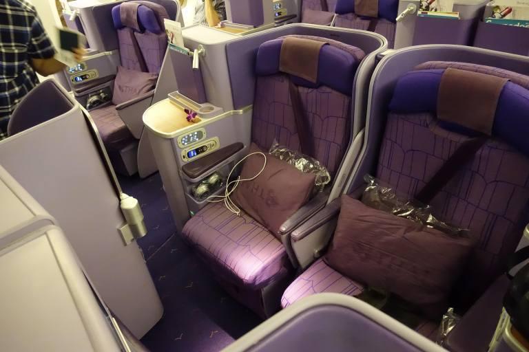 泰國航空商務艙 圖文來自於:TripPlus