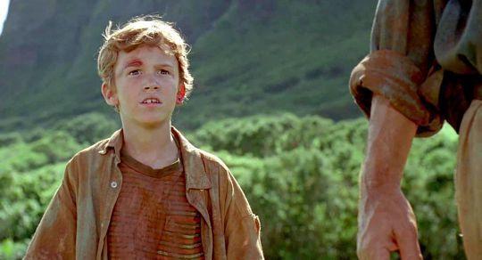 約瑟夫馬札羅拍「侏羅紀公園」時才10歲。圖/摘自imdb