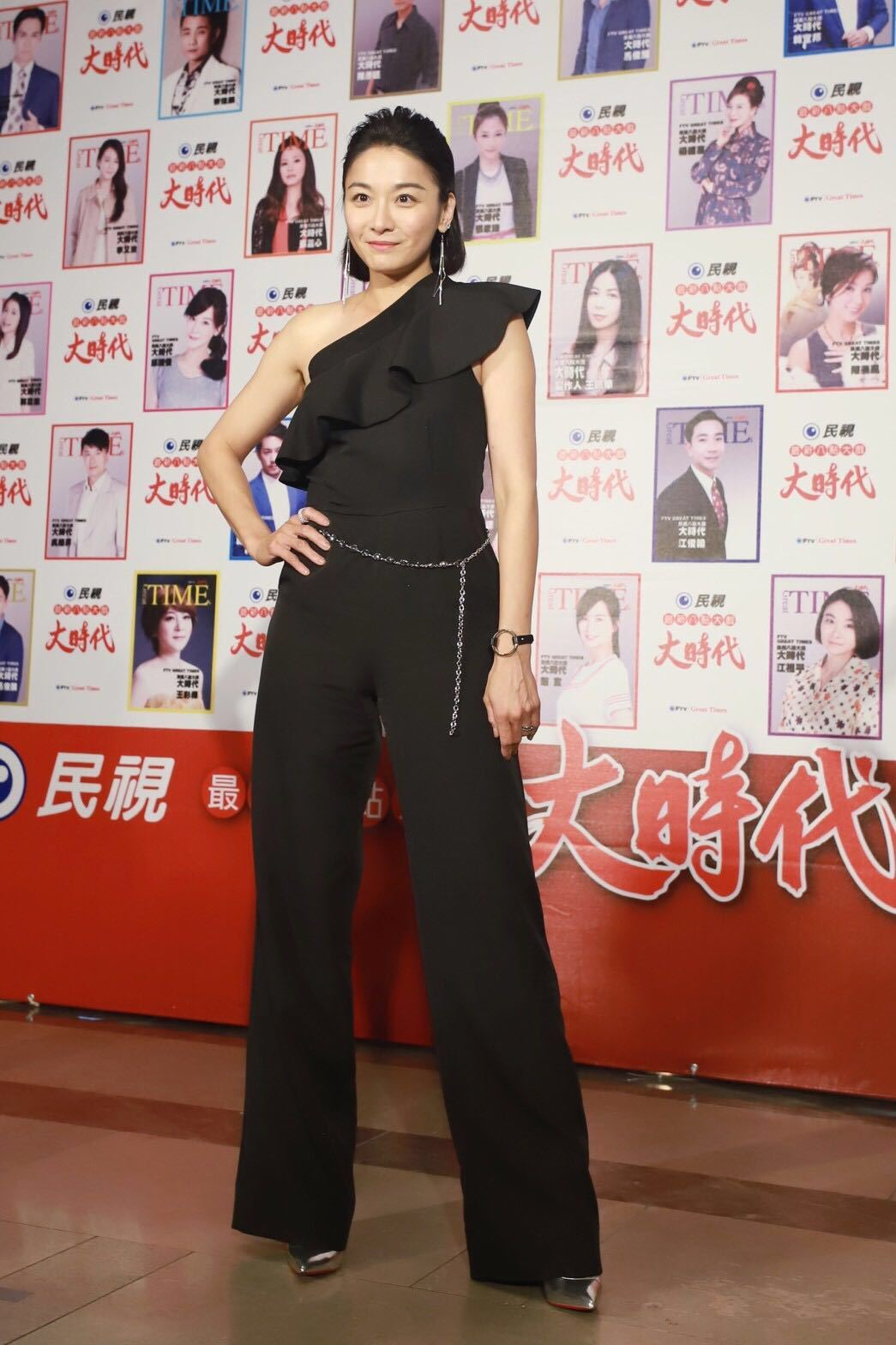 江祖平想穿回高跟鞋。圖/艾迪昇提供