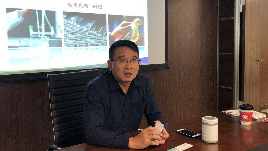 康友董事長黃文烈。 記者黃文奇/攝影