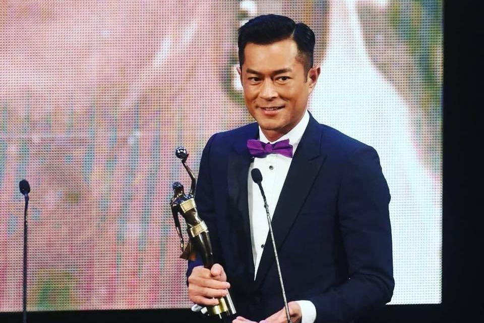 古天樂今年榮登香港電影金像獎影帝。圖/摘自臉書