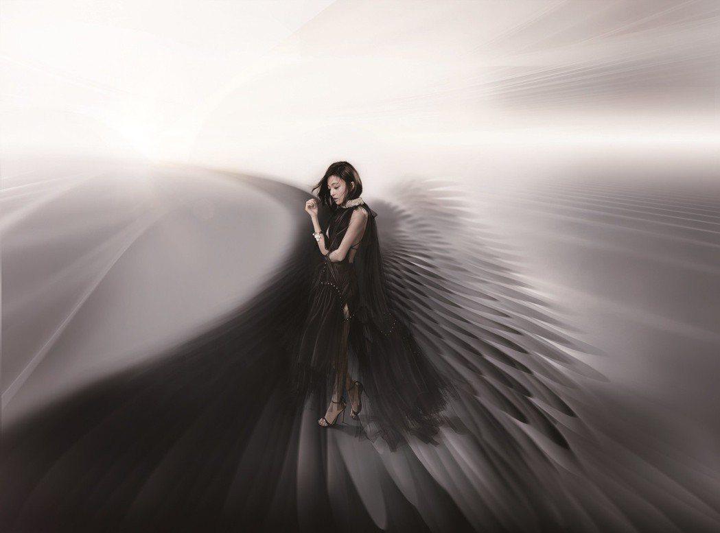 張韶涵演唱會海報造型與經典作品「隱形的翅膀」相互呼應。圖/IMC Live Gl...