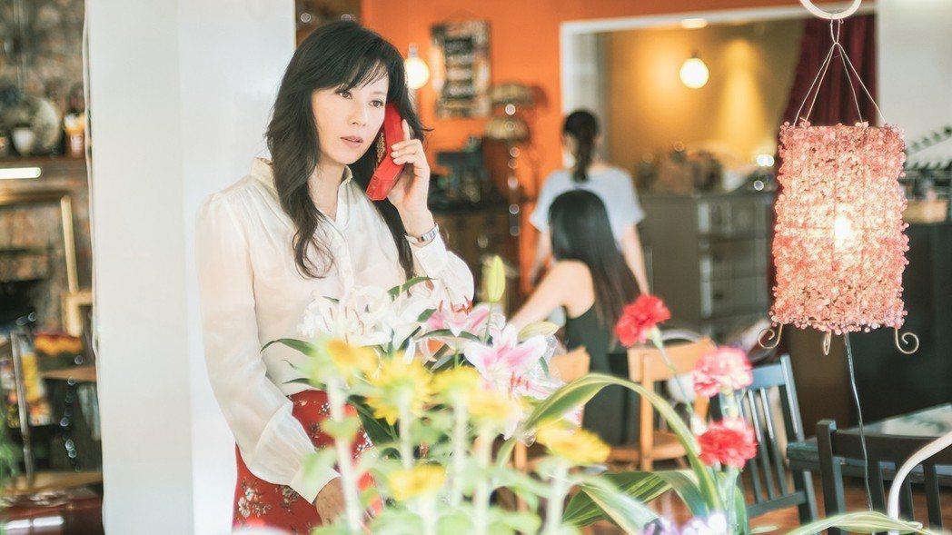 涂善妮近期演出「初戀的情人」,美麗依舊。圖/TVBS提供