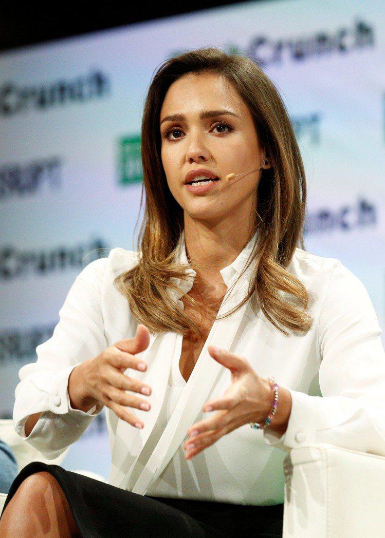 潔西卡艾芭現在是億萬身價的女企業家。圖/路透資料照片