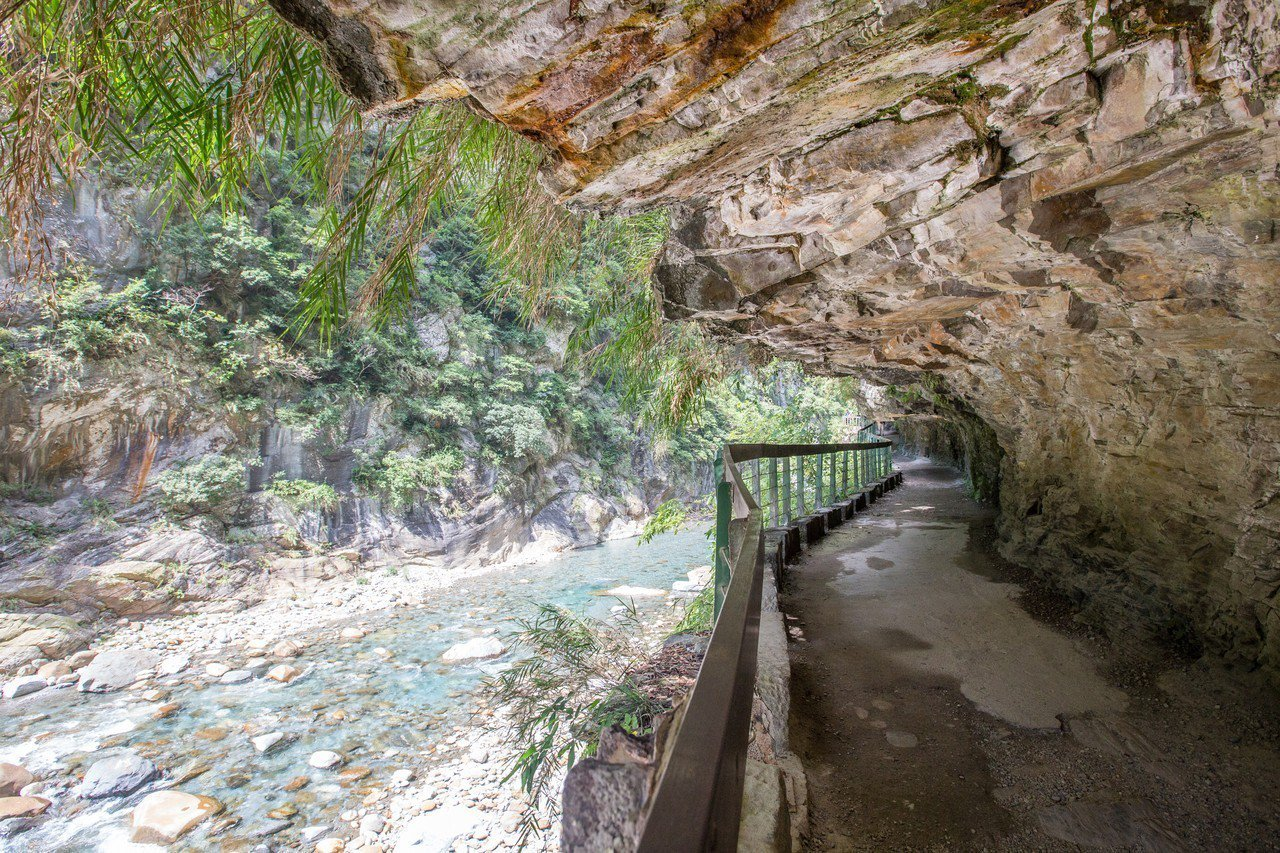 花蓮觀光資源可媲美國際,太魯閣風景吸引許多國內外旅客。記者蔡翼謙/攝影