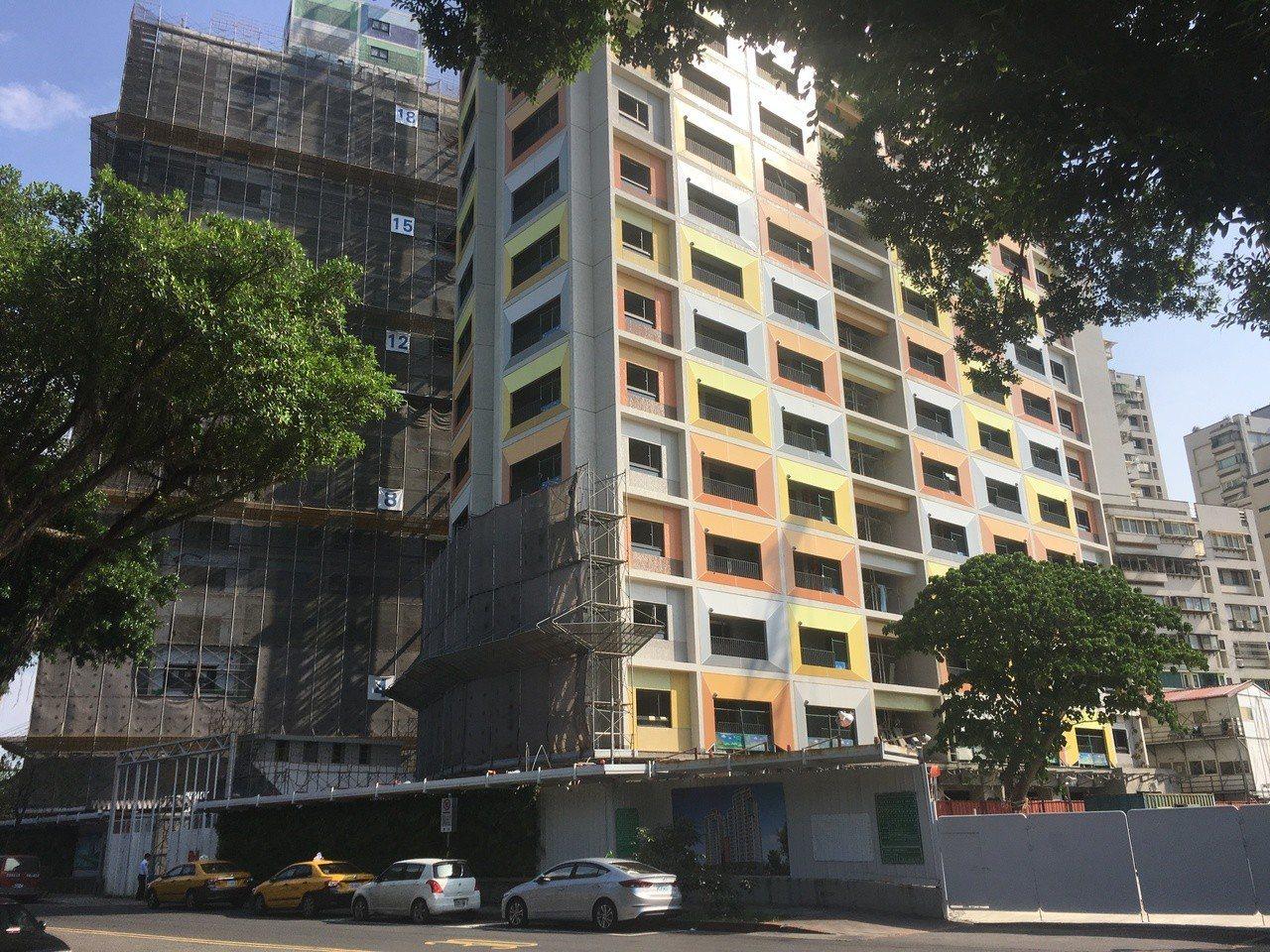 台北市萬華區的青年公宅。 圖/聯合報系資料照片