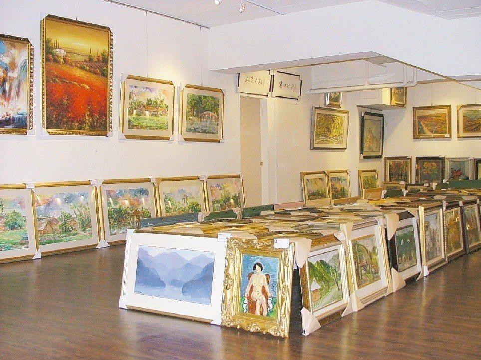個人出售藝術品的所得屬於財產交易所得。 聯合報系資料照