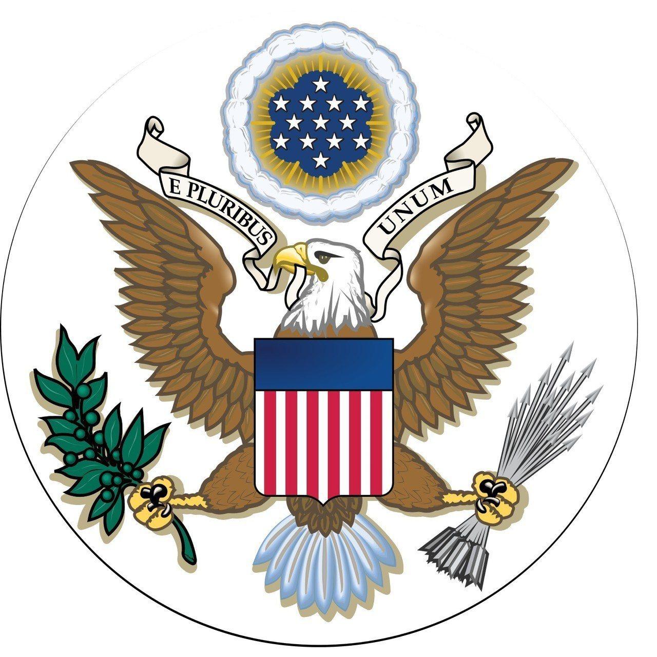 普丁諷美國徽,老鷹吃光了橄欖枝。 美聯社