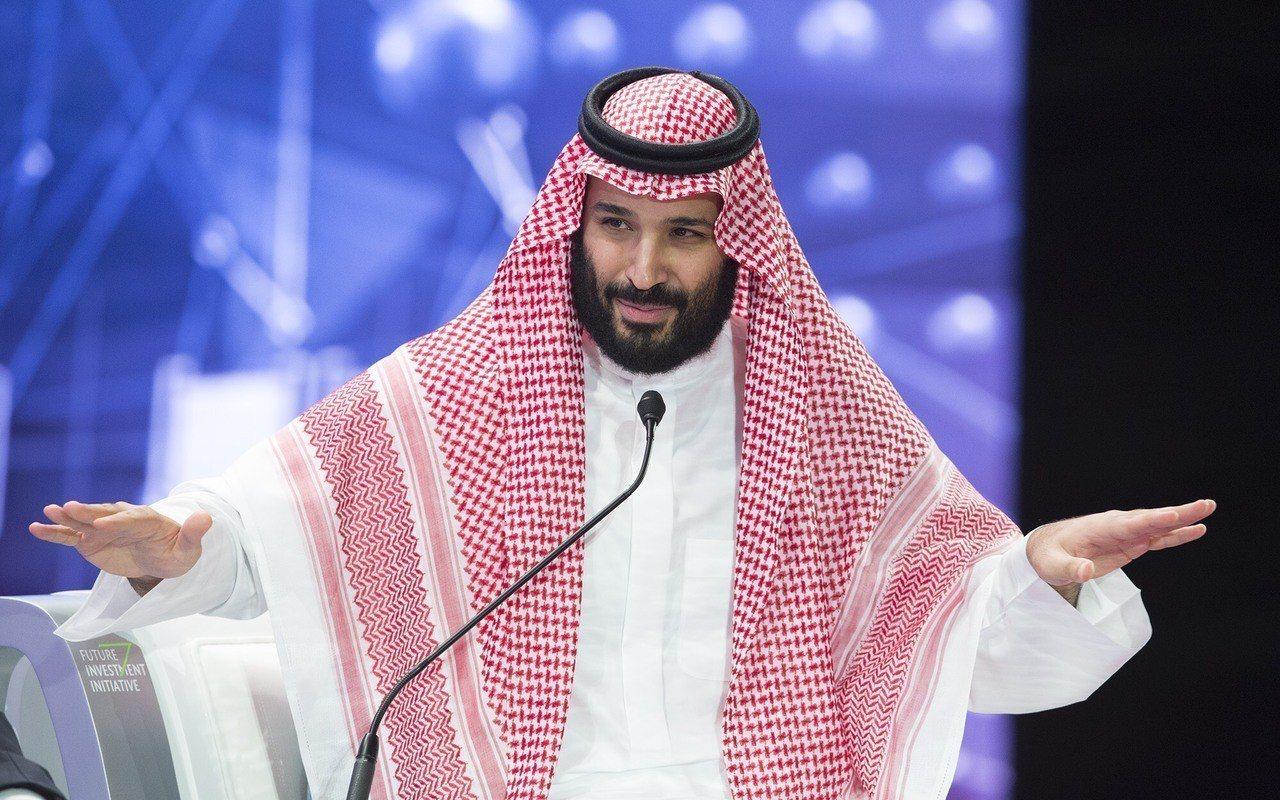 圖為沙國王儲穆罕默德.沙爾曼(Mohammed bin Salman)。 歐新社