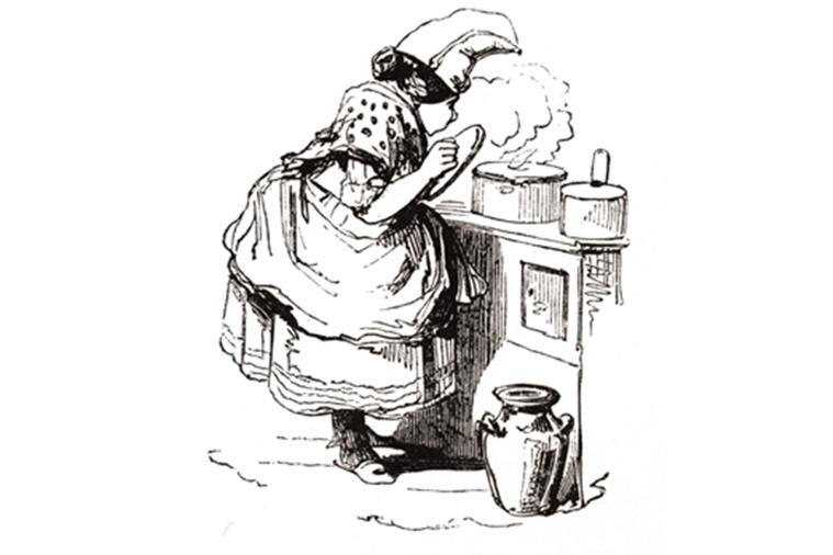 圖/摘自《大英暗黑料理大全:烤孔雀、活蛙派、煎腦渣,和紫色毒梨子!倫敦市政圖書館...