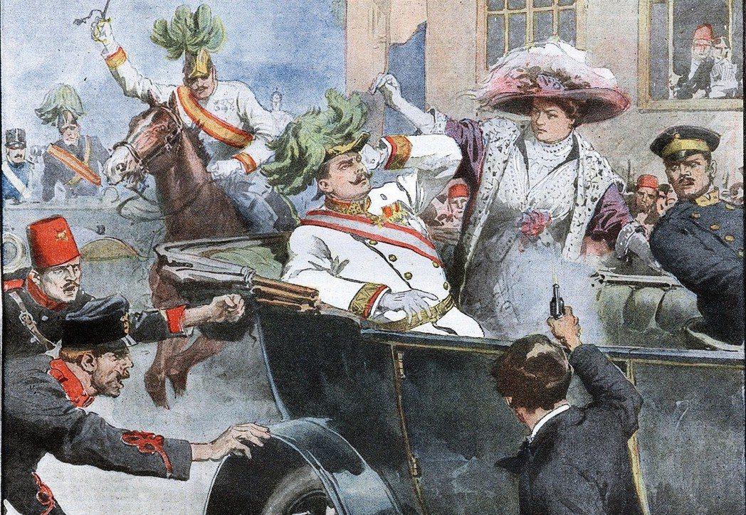 1914年6月28日,奧匈帝國皇儲斐迪南大公及其妻子遭塞爾維亞極端民族主義者槍殺...