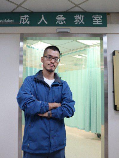 有著急診訓練的廖家榮即將投入吉里巴斯台灣醫衛中心。 圖片提供/馬偕紀念醫院